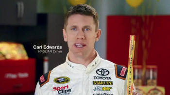 XFINITY Cloud X1 DVR TV Spot, 'Commercials' Featuring Carl Edwards - Thumbnail 1