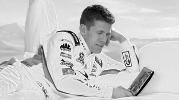 XFINITY Cloud X1 DVR TV Spot, 'Commercials' Featuring Carl Edwards