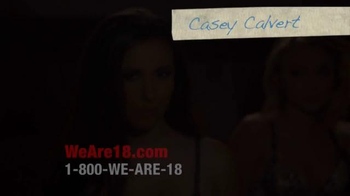 We Are 18 TV Spot, 'Casey Calvert' - Thumbnail 1