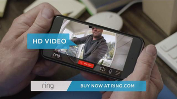 Ring Video Doorbell TV Spot, 'Father's Day Gift' - Thumbnail 5