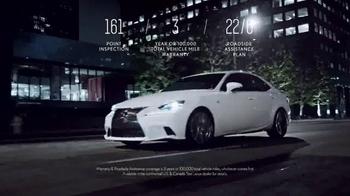 Lexus L/Certified TV Spot, 'Window Shopping' - Thumbnail 8