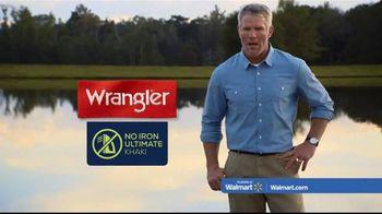 Wrangler No Iron Khaki TV Spot, 'Look Like a Million' Featuring Brett Favre - 75 commercial airings