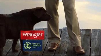 Wrangler No Iron Khaki TV Spot, 'Look Like a Million' Featuring Brett Favre - Thumbnail 2