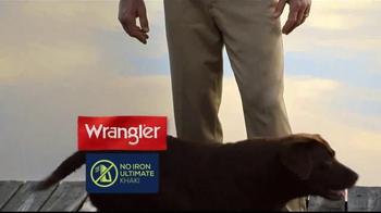 Wrangler No Iron Khaki TV Spot, 'Look Like a Million' Featuring Brett Favre - Thumbnail 3