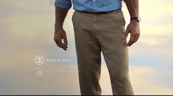 Wrangler No Iron Khaki TV Spot, 'Look Like a Million' Featuring Brett Favre - Thumbnail 4