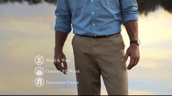 Wrangler No Iron Khaki TV Spot, 'Look Like a Million' Featuring Brett Favre - Thumbnail 5