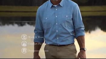 Wrangler No Iron Khaki TV Spot, 'Look Like a Million' Featuring Brett Favre - Thumbnail 7