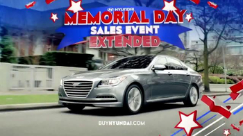 Hyundai Memorial Day Sales Event TV Spot, 'Final Days'