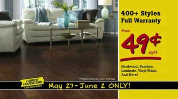 Lumber Liquidators TV Spot, 'More Floor for Less Money' - Thumbnail 2
