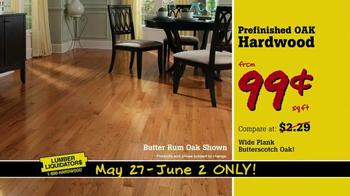 Lumber Liquidators TV Spot, 'More Floor for Less Money' - Thumbnail 3