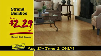 Lumber Liquidators TV Spot, 'More Floor for Less Money' - Thumbnail 4