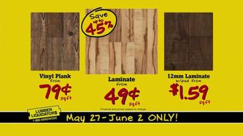 Lumber Liquidators TV Spot, 'More Floor for Less Money' - Thumbnail 6