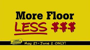 Lumber Liquidators TV Spot, 'More Floor for Less Money' - Thumbnail 8