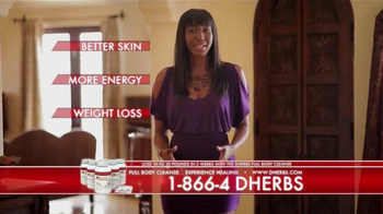 DHerbs Full Body Cleanse TV Spot, 'Feel the Difference' - Thumbnail 1