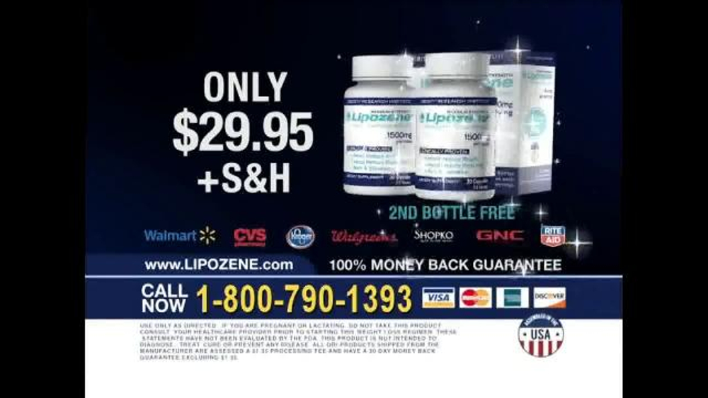 Lipozene TV Commercial, 'Millions of People'
