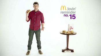 McDonald's Sirloin Third Pounders TV Spot, 'Peppercorn' Ft. Max Greenfield - 35 commercial airings