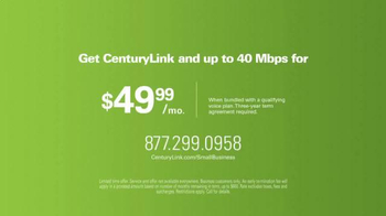 CenturyLink High-Speed Internet TV Spot, 'Small Business' - Thumbnail 6
