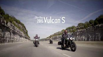 2015 Kawasaki Vulcan S TV Spot, 'Find Your Fit'