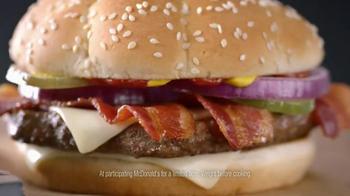 McDonald's Third Pound Burger TV Spot, 'Phone' Feat. Max Greenfield - Thumbnail 6