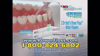 Dr. Hart's Power Floss TV Spot, 'Fast, Easy, Pain-free' - Thumbnail 10