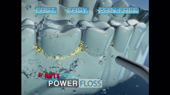 Dr. Hart's Power Floss TV Spot, 'Fast, Easy, Pain-free' - Thumbnail 2