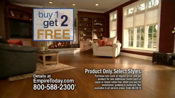 Empire Today Buy One Get Two Free TV Spot, 'New Floors'
