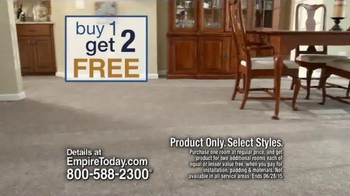 Empire Today Buy One Get Two Free TV Spot, 'New Floors' - Thumbnail 3