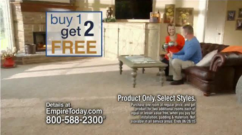Empire Today Buy One Get Two Free TV Spot, 'New Floors' - Thumbnail 5