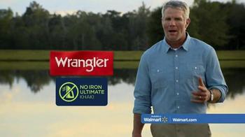Wrangler No Iron Khaki TV Spot, 'That's a Deal' Featuring Brett Favre - Thumbnail 6