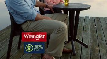Wrangler No Iron Khaki TV Spot, 'That's a Deal' Featuring Brett Favre - Thumbnail 1