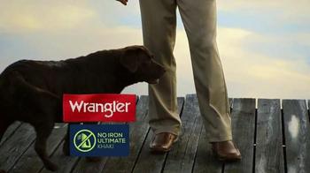 Wrangler No Iron Khaki TV Spot, 'That's a Deal' Featuring Brett Favre - Thumbnail 2