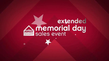 Ashley Furniture Homestore Memorial Day Sales Event TV Spot, 'Extended' - Thumbnail 2