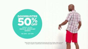 JCPenney Huge Sale TV Spot, 'Summer Savings' - Thumbnail 6