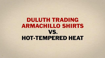 Duluth Trading Armachillo Shirts TV Spot, 'Put the Heat on Hold' - Thumbnail 5