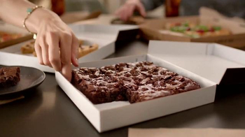 Pizza Hut Hershey's Triple Chocolate Brownie TV Spot, 'Grandma's Brownies' - Thumbnail 7