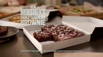Pizza Hut Hershey's Triple Chocolate Brownie TV Spot, 'Grandma's Brownies' - Thumbnail 8