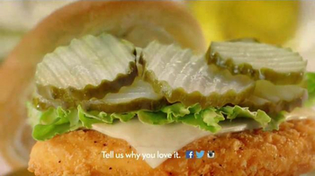 Wendy's Crispy Dill Chicken TV Spot, 'Pickle People' - Thumbnail 8
