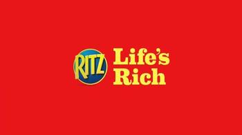Ritz Crackers TV Spot, 'Cartoon Squirrel Movie' - Thumbnail 9