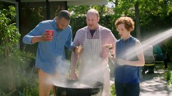 Alka-Seltzer Heartburn Relief Chews TV Spot, 'Fireman at the Grill' - 1154 commercial airings