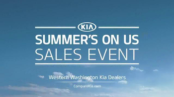 Kia Summer's On Us Sales Event TV Spot, 'Best Summer Ever' - Thumbnail 8