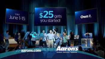 Aaron's TV Spot, 'Aarons.com' - Thumbnail 7