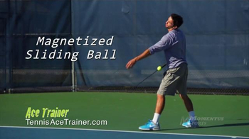 Momentus Sports Ace Trainer TV Spot, 'Stay in Touch' Ft. Nick Bollettieri - Thumbnail 3