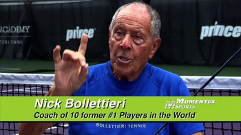 Momentus Sports Ace Trainer TV Spot, 'Stay in Touch' Ft. Nick Bollettieri - Thumbnail 6
