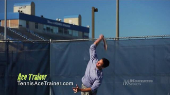 Momentus Sports Ace Trainer TV Spot, 'Stay in Touch' Ft. Nick Bollettieri - Thumbnail 8