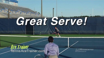 Momentus Sports Ace Trainer TV Spot, 'Stay in Touch' Ft. Nick Bollettieri - Thumbnail 9