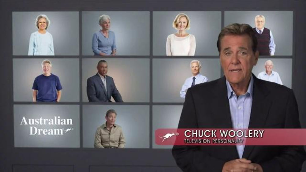 Australian Dream TV Commercial, 'The Faces of Arthritis' Featuring Chuck Woolery