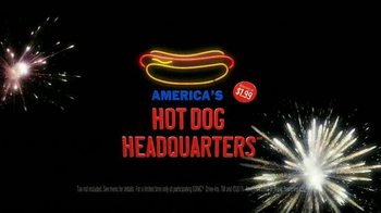 Sonic Drive-In Hot Dogs TV Spot, 'Favorite Hot Dog' - Thumbnail 9