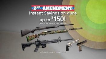 Bass Pro Shops NRA Freedom Days TV Spot, 'Handguns' - Thumbnail 4