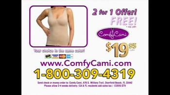 Comfy Cami TV Spot, 'Slim Down Shirt' - Thumbnail 10