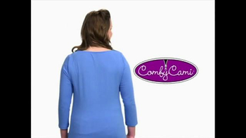 Comfy Cami TV Spot, 'Slim Down Shirt' - Thumbnail 6